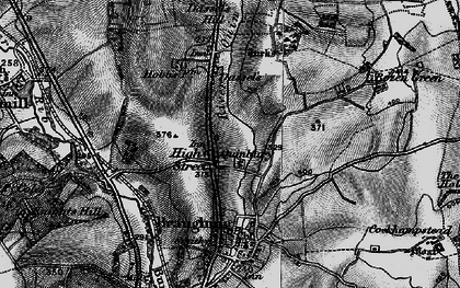Old map of Hay Street in 1896