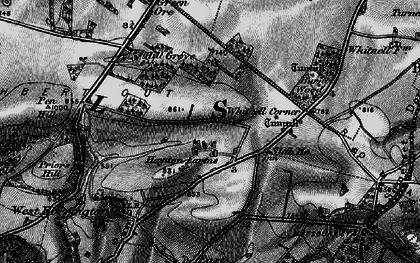 Old map of Whitnell Corner in 1898