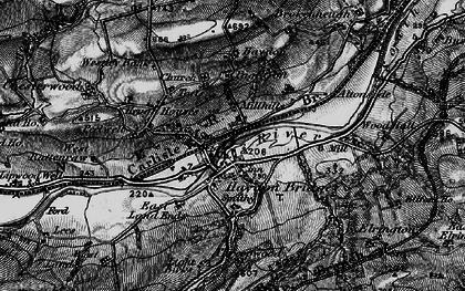 Old map of Haydon Bridge in 1897