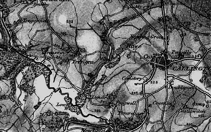 Old map of Haye Fm in 1896