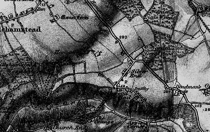 Old map of Haynes in 1896