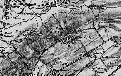 Old map of Aiglehill in 1897