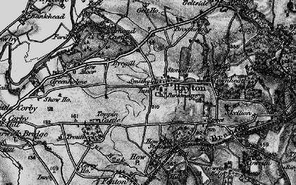 Old map of Westgarth in 1897