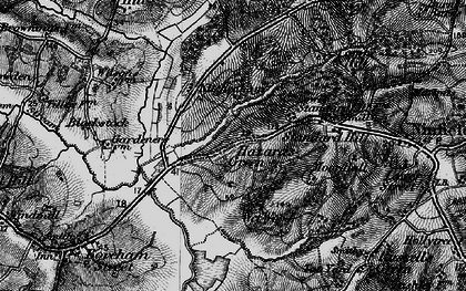 Old map of Ash Bourne in 1895