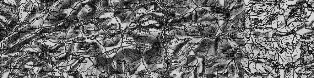 Old map of Wigford in 1897