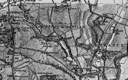 Old map of Bank Ho in 1897