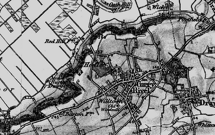 Old map of West Sedge Moor in 1898