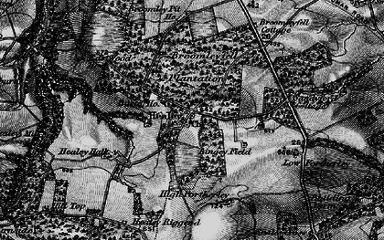 Old map of Healey in 1898