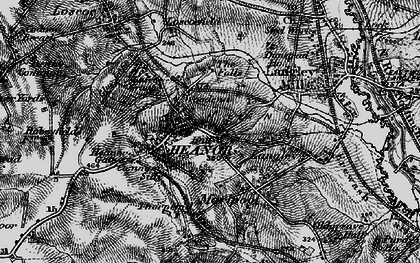 Old map of Heanor in 1895