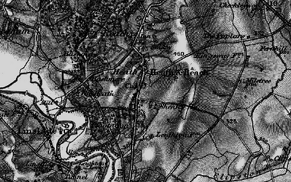 Old map of Heath and Reach in 1896