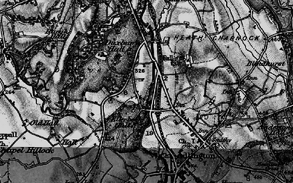 Old map of Heath Charnock in 1896
