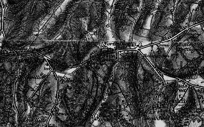 Old map of Heathfield in 1895