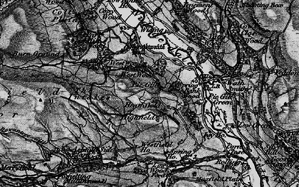 Old map of West Wood Ho in 1897
