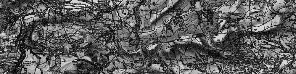 Old map of West Riding in 1898
