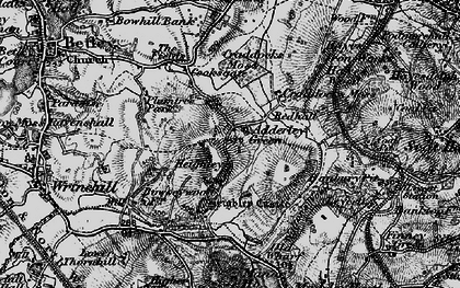 Old map of Adderley Green in 1897