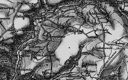 Old map of Lemar in 1895