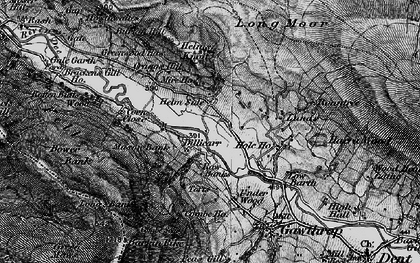 Old map of Whitbeck in 1897