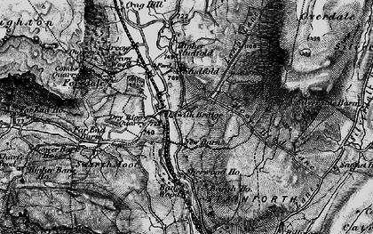Old map of Bargh Ho in 1898