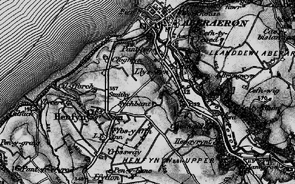 Old map of Wig-wen in 1898