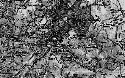 Old map of Afon y Meirchion in 1897