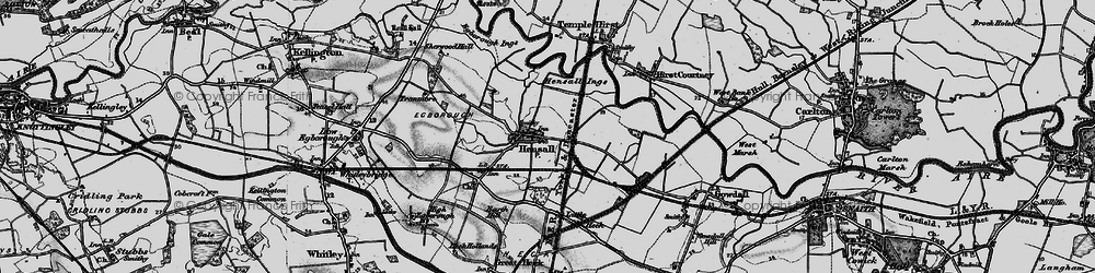 Old map of Hensall in 1895