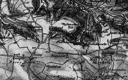 Old map of Yellaton in 1898