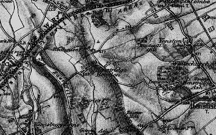 Old map of Toomer Hill in 1898