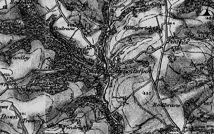 Old map of Herodsfoot in 1896