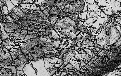 Old map of Astley Ho in 1896