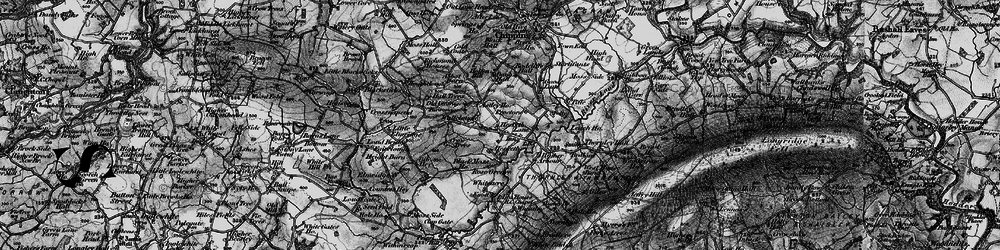 Old map of Leach Ho in 1896