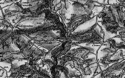 Old map of Bake Wood in 1896