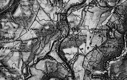 Old map of Willowlands Laithe in 1898