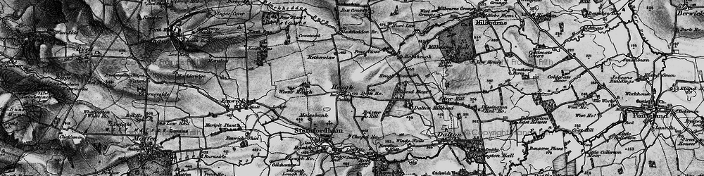 Old map of Westerheugh in 1897