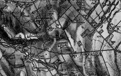 Old map of Wharton Ho in 1897