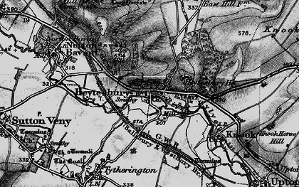 Old map of Heytesbury in 1898
