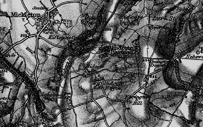 Old map of Baker's Hill in 1898