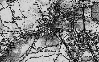 Old map of High Barnet in 1896