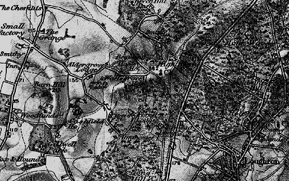 Old map of Whitehouse Plain in 1896