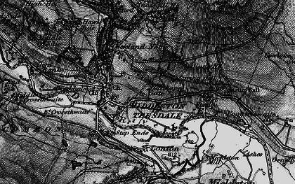 Old map of West Stotley in 1897