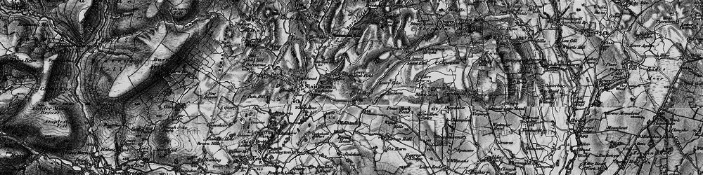 Old map of Wilton Hills in 1898
