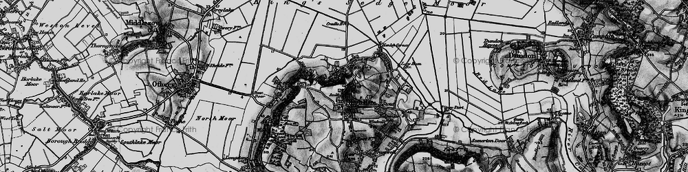 Old map of High Ham in 1898