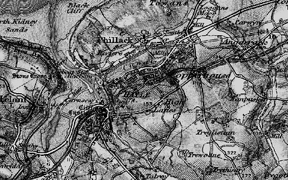 Old map of High Lanes in 1896