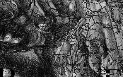Old map of Bannest Hill in 1897