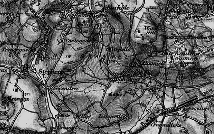 Old map of High Street in 1895