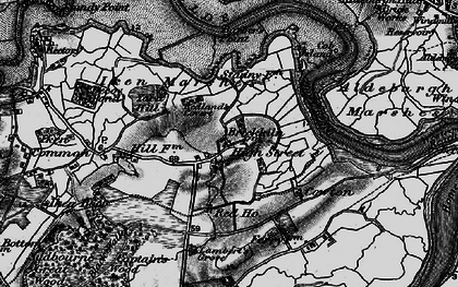 Old map of Barber's Point in 1898