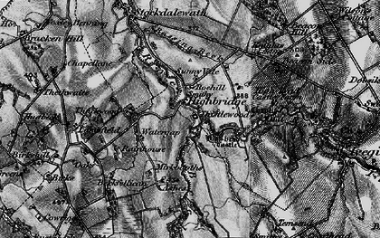 Old map of Ashes, The in 1897