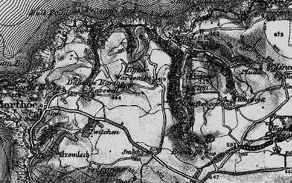 Old map of Lee Bay in 1897