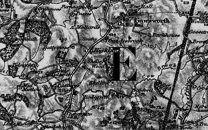 Old map of Gandysbrook in 1896