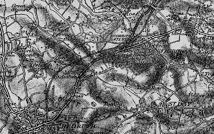 Old map of Highway in 1895