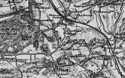 Old map of Whitmore Wood in 1897